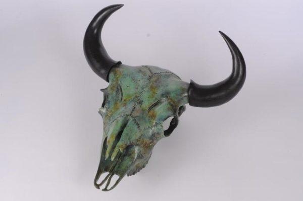 Bison Carving